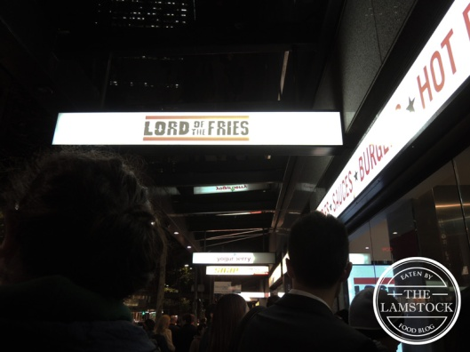 Lord of the Fries, Sydney
